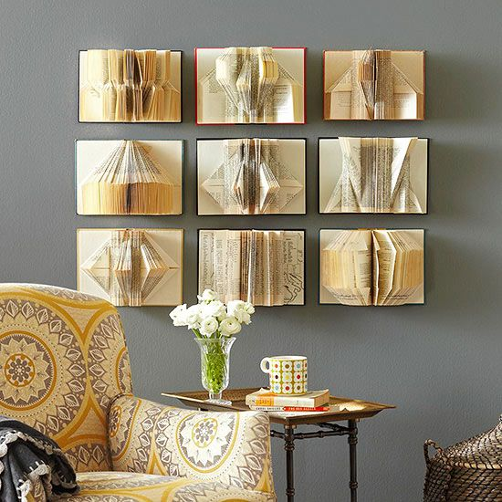 Book Wall Decor
