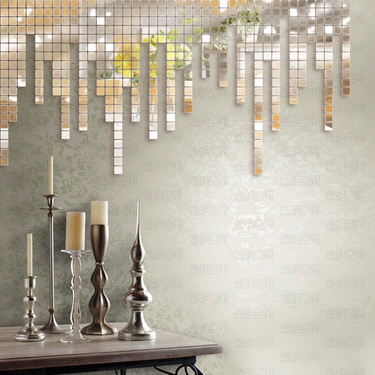 Mosaic Mirror Wall Decor