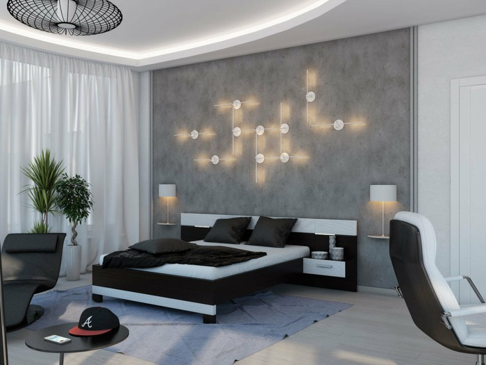 What Are The Best Bedroom Wall Decor Ideas For HighTech Style - High tech bedroom design