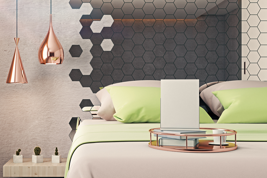 Hexagonal Wall Mirrors