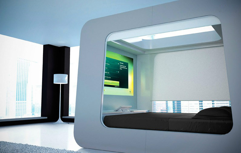 High-Tech Bedroom