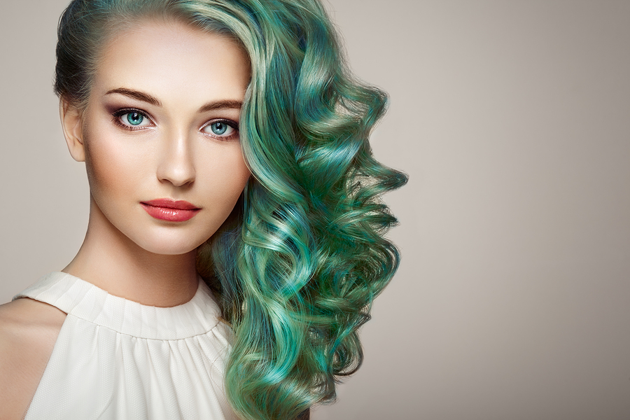 Creative hair coloring